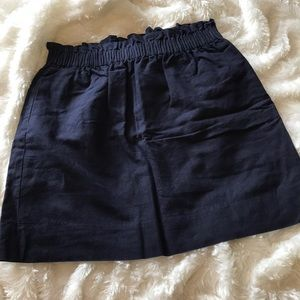 J. Crew Paper Bag Skirt with Pockets